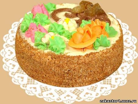 Торт рецепт фруктового торта