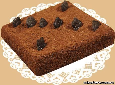 Фото бисквитно кремовых тортов трюфель